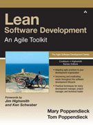 Lean Software Development: An Agile Toolkit by Mary and Tom Poppendieck<